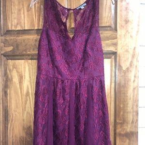 Purple Lace Dress!